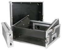 Citronic 19 inch Combo Flightcase - 2U x 8U (for twin CD palyer and Mixer)