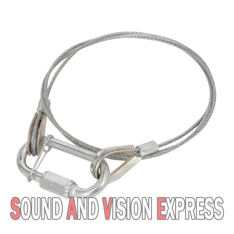 Lighting Safety Cables : Lighting effect steel safety cable up to kg