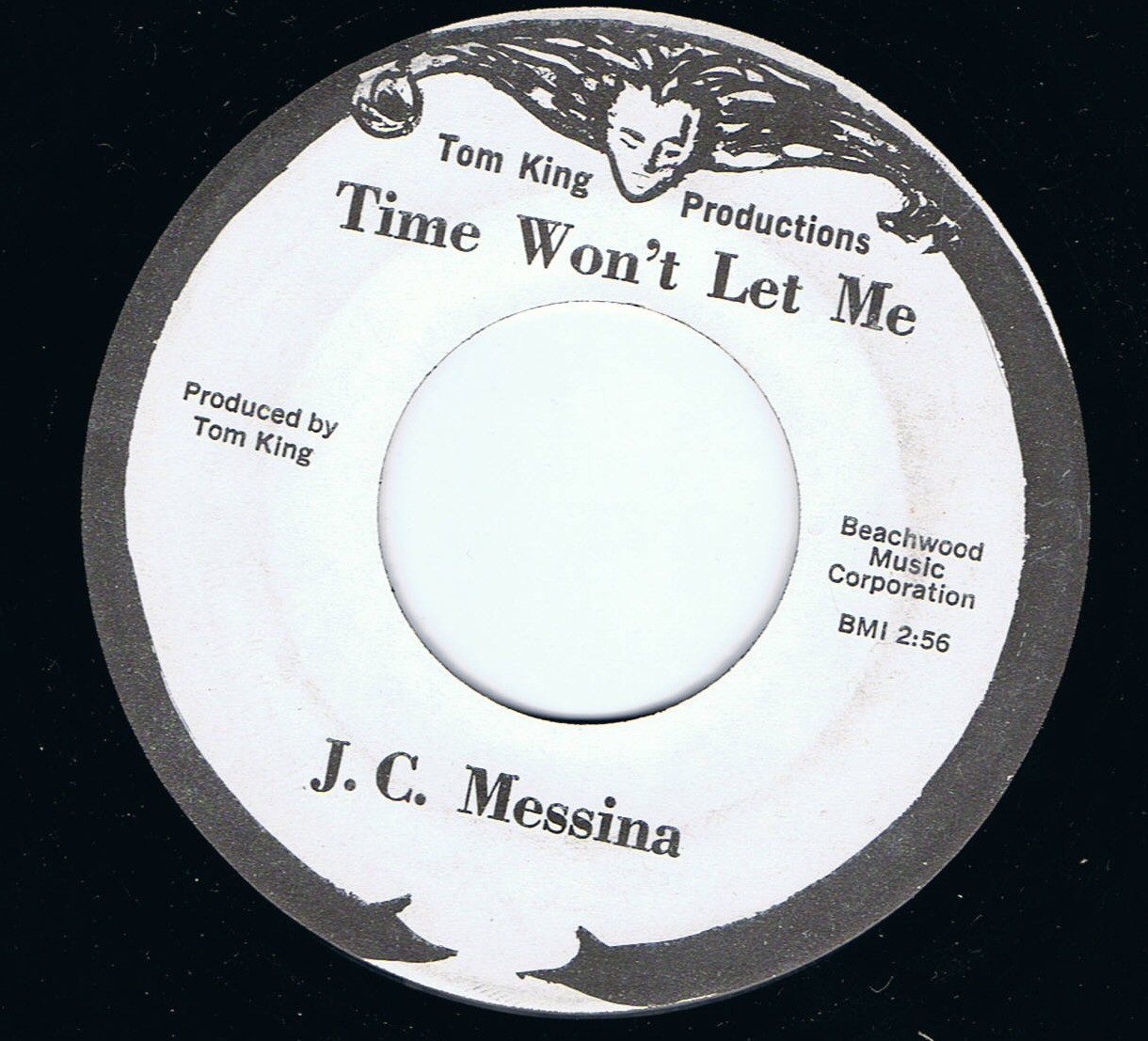 J  C  Messina Time Won't Let Me Tom King 2nd Mint Unplayed! Free Shipping!