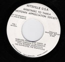 MOTOWN APPRECIATION SOCIETY SINGLE. ALL THE STARS HITSVILLE USA