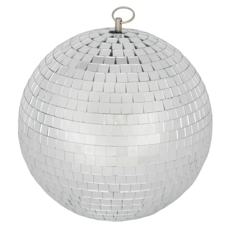 Qtx 30cm Glass Mirror Ball Mirrorball Dj Disco Light Beam